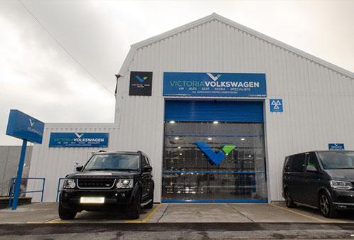 Victoria Volkswagen new location Fordoun Road